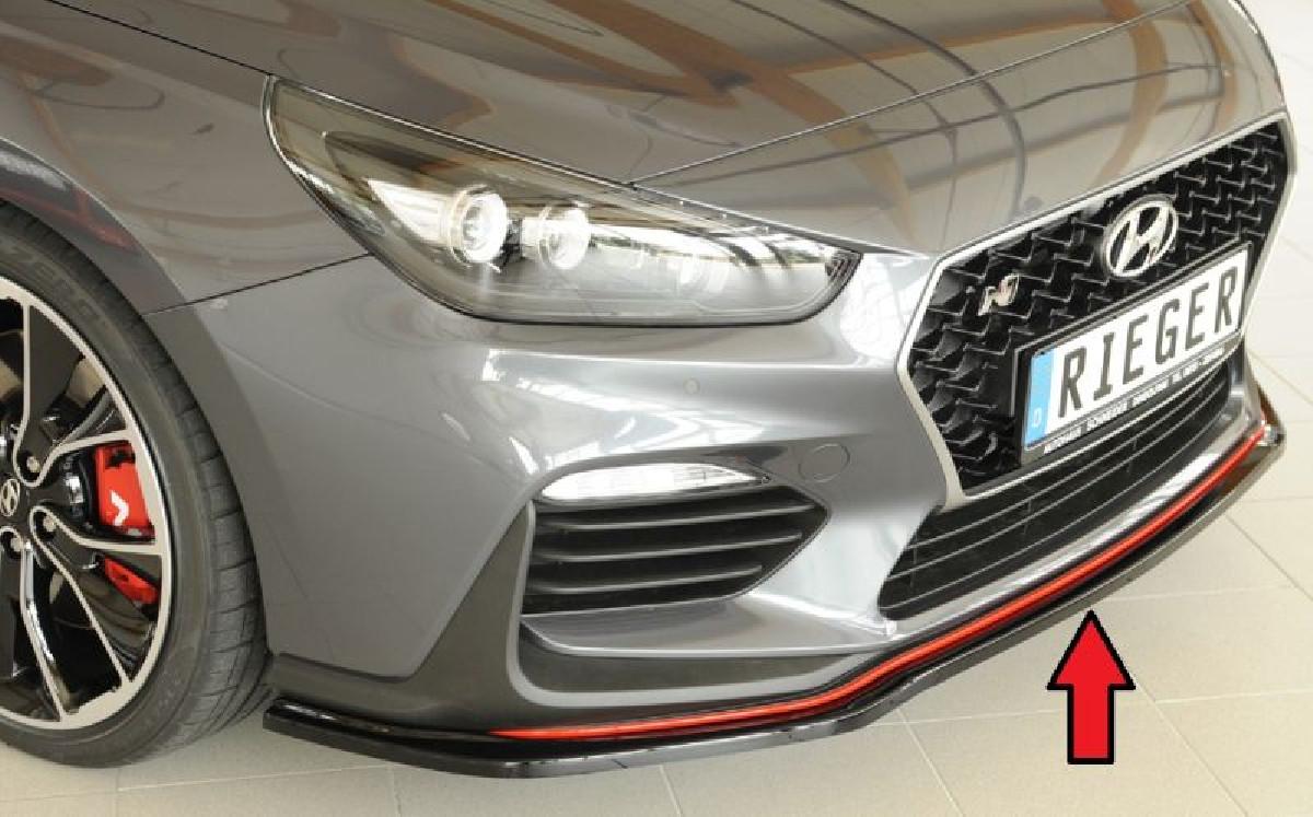 Rieger Spoilerschwert für N Frontschürze PDE passend für Hyundai I30