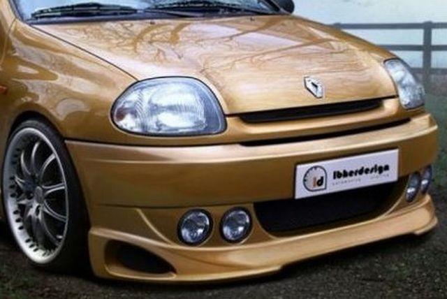 Frontstoßstange Renault Clio 2 Phase 1 3T (98-01) SPIRIT