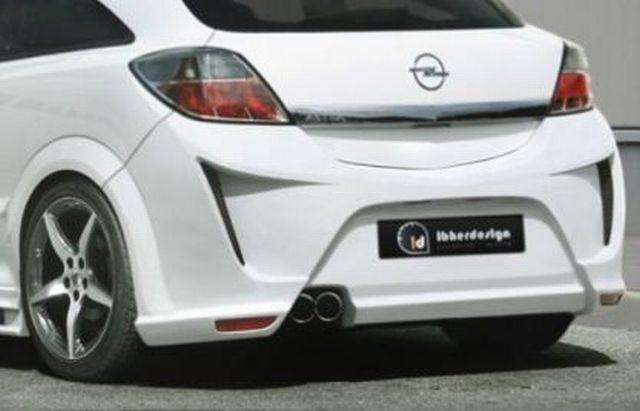Heckstoßstange Opel Astra H GTC Bj. 05-10 VIRUSS