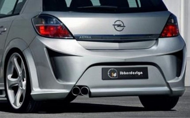 Heckstoßstange Opel Astra H 5T Bj. 04-09 VIRUSS