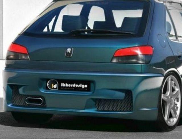 Heckstoßstange Peugeot 306 MK2 (97-01) VOLTAGE