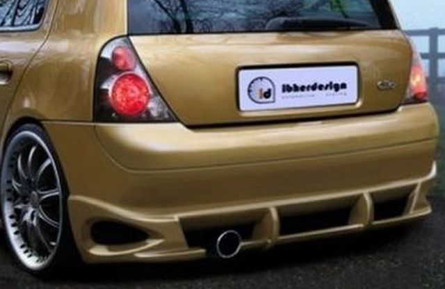 Heckstoßstange Renault Clio 2 Phase 1 3T (98-01) SPIRIT