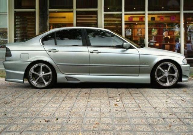 Seitenschweller BMW 3er E46 Limousine TARCHON