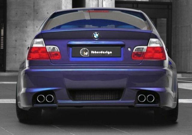 Heckstoßstange BMW 3er E46 Limousine COSMIC