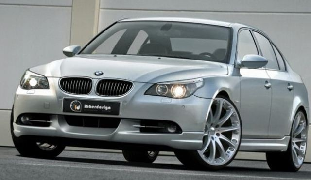 Frontlippe BMW 5er E60 Limousine (03-07) RAVEN