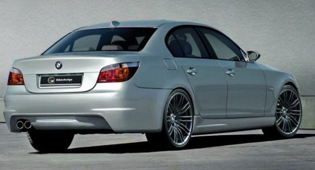 Heckstoßstange BMW 5er E60 Limousine (03-07) KAIET