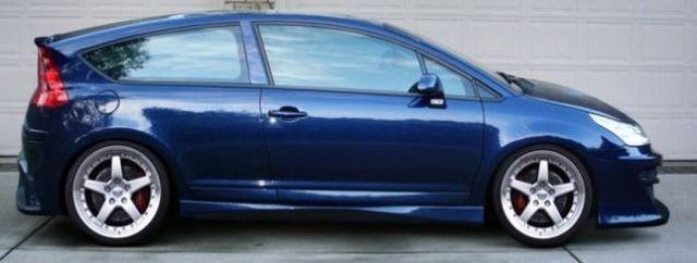 Seitenschweller Citroen C4 Coupe FUSION