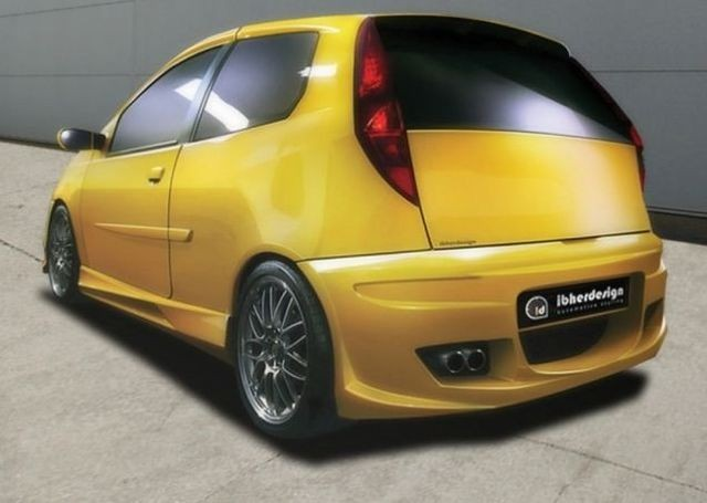 Heckstoßstange Fiat Punto II 3T Bj. 99-03 PHAZER