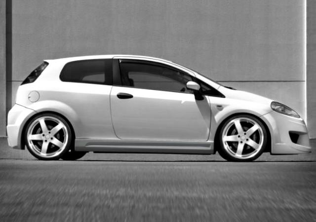 Seitenschweller Fiat Grande Punto 3T (05-09) X TREAM