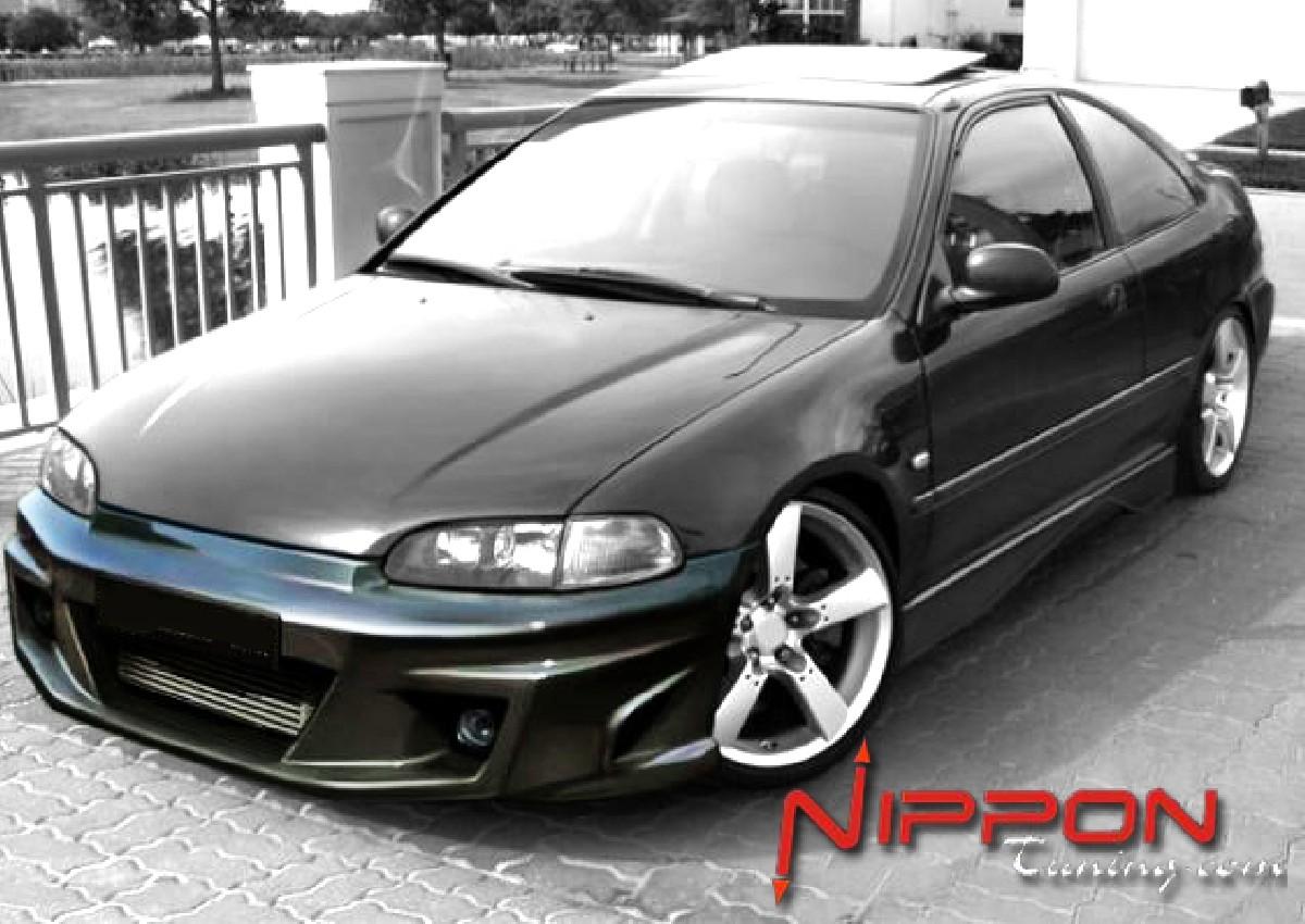 Frontstoßstange Honda Civic Coupe/Hatchback Bj. 92-95 KOMODO