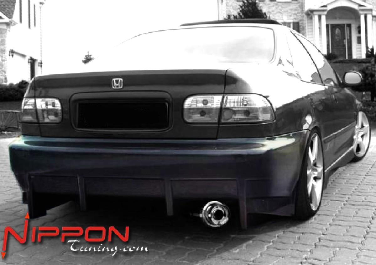 Heckstoßstange Honda Civic Coupe Bj. 92-95 KOMODO