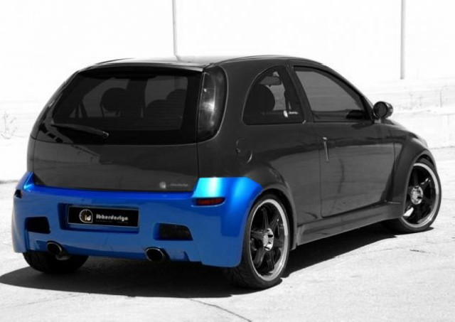 Heckstoßstange Opel Corsa C (00-06) HYPNOCIS