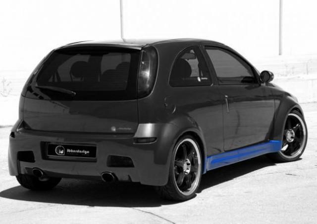 Seitenschweller Opel Corsa C (00-06) HYPNOCIS