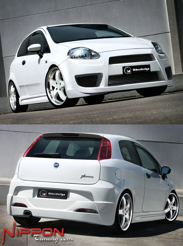 Bodykit Fiat Grande Punto 3T (05-09) X TREAM