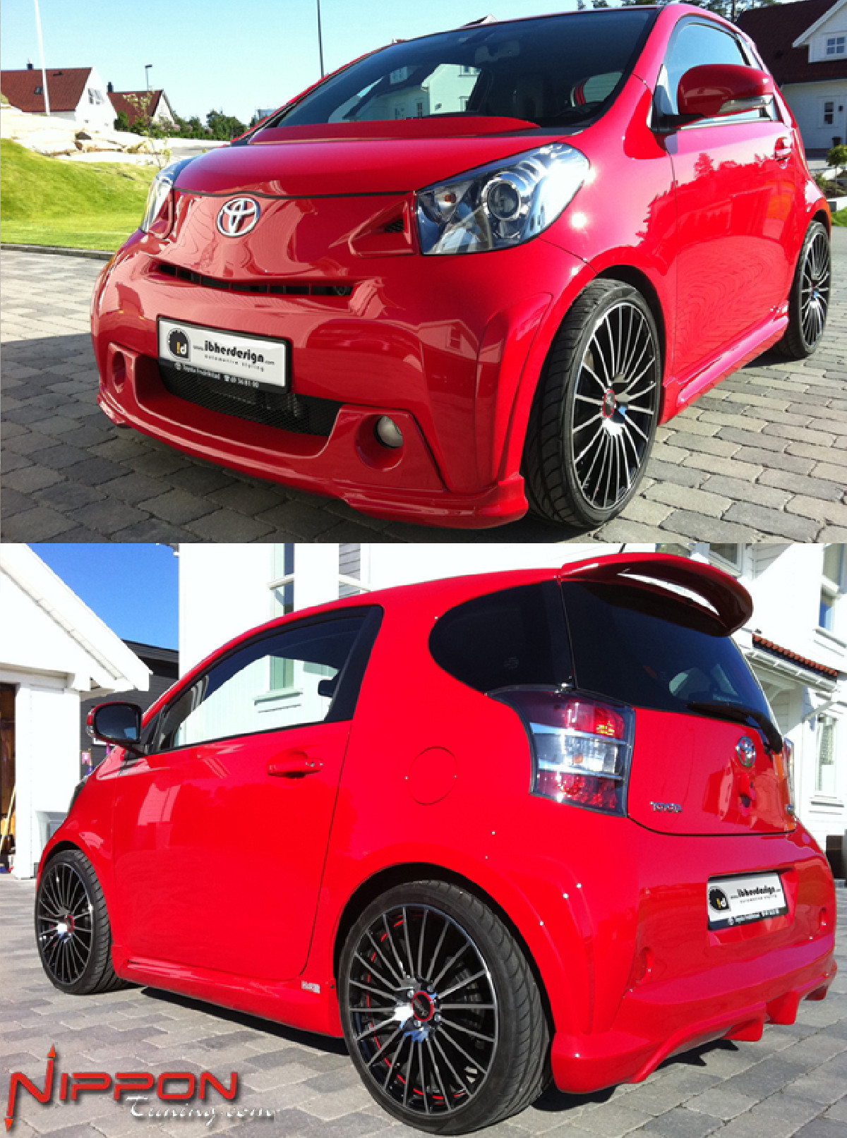 Bodykit Toyota iQ ab 08 PARTY