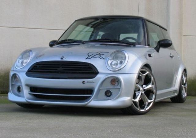 Breitbau Bodykit Mini Cooper / One R50 Bj. 01-06 BRUTUS WIDE