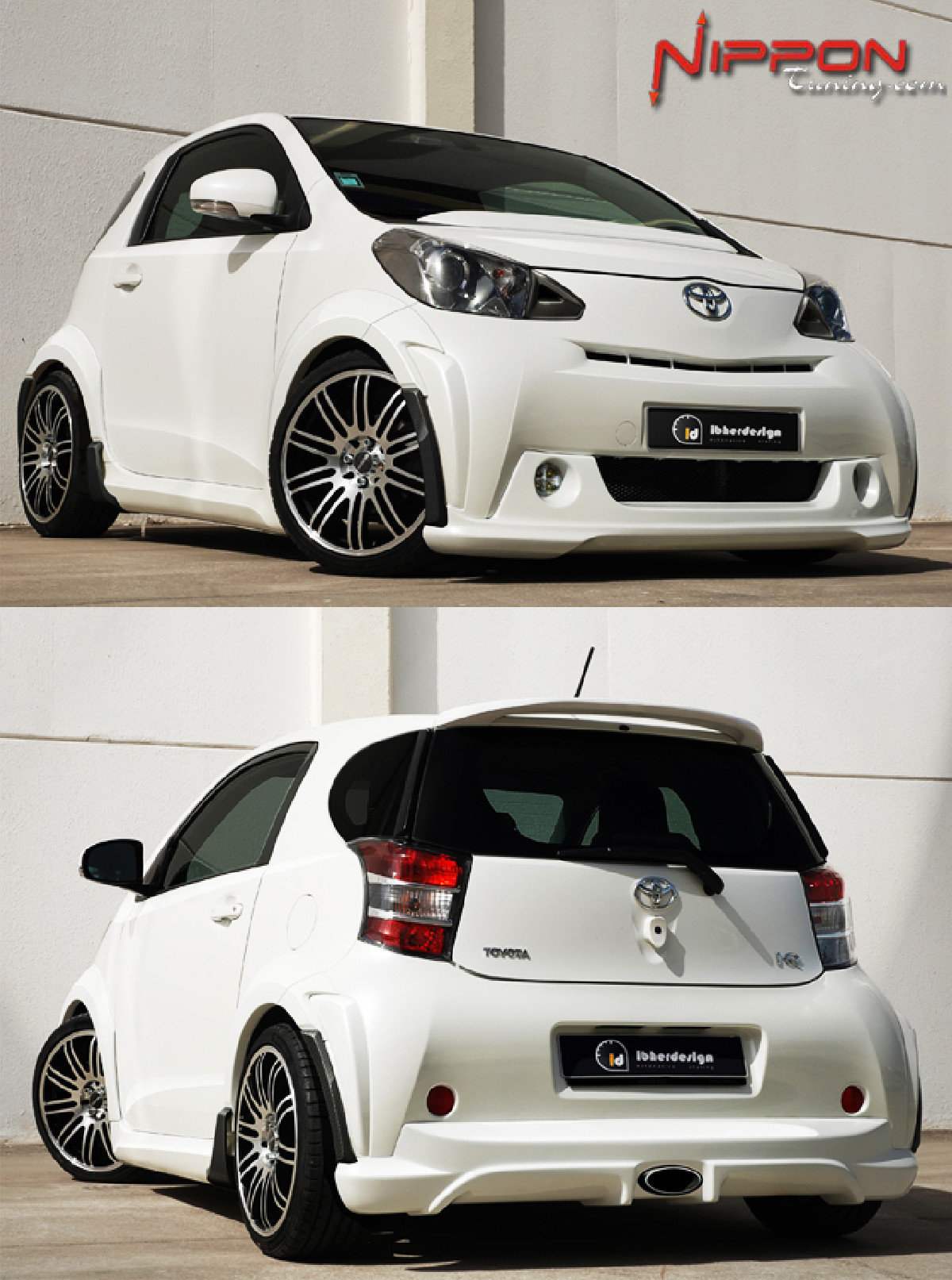 Breitbau Bodykit Toyota iQ ab 08 PARTY WIDE Carbon Edition