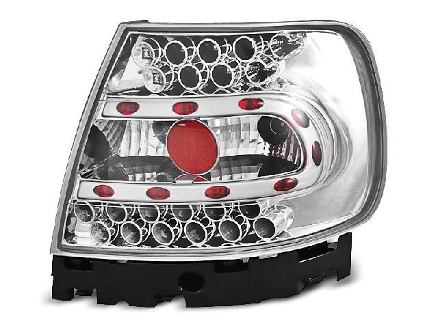 LED TAIL LIGHTS CHROME fits AUDI A4 B5 11.94-09.00