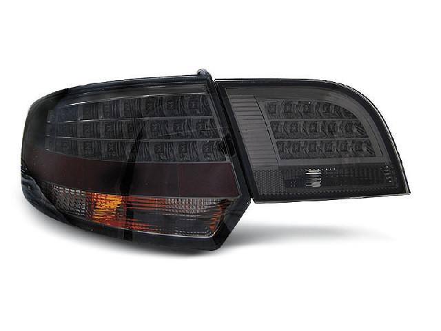 LED TAIL LIGHTS SMOKE fits AUDI A3 8P 04-08 SPORTBACK
