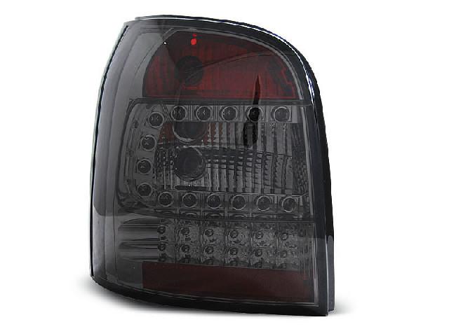 LED TAIL LIGHTS SMOKE fits AUDI A4 94-01 AVANT