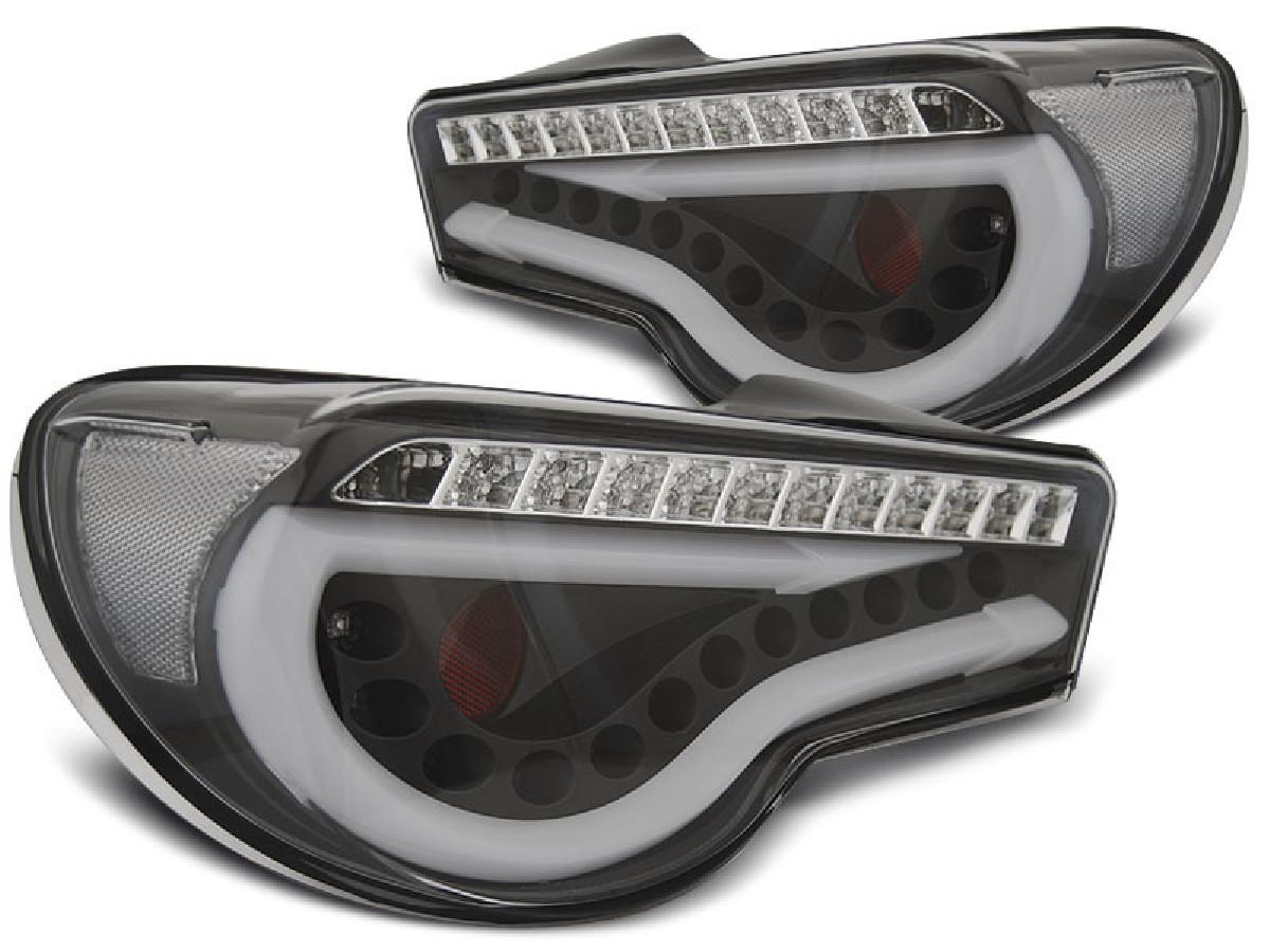 TOYOTA GT86 12-16 LED BAR BLACK SEQ