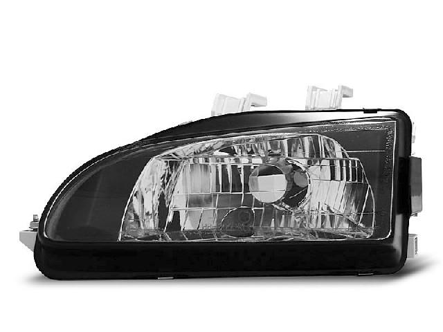HONDA CIVIC 09.91-08.95 2D/3D BLACK Scheinwerfer