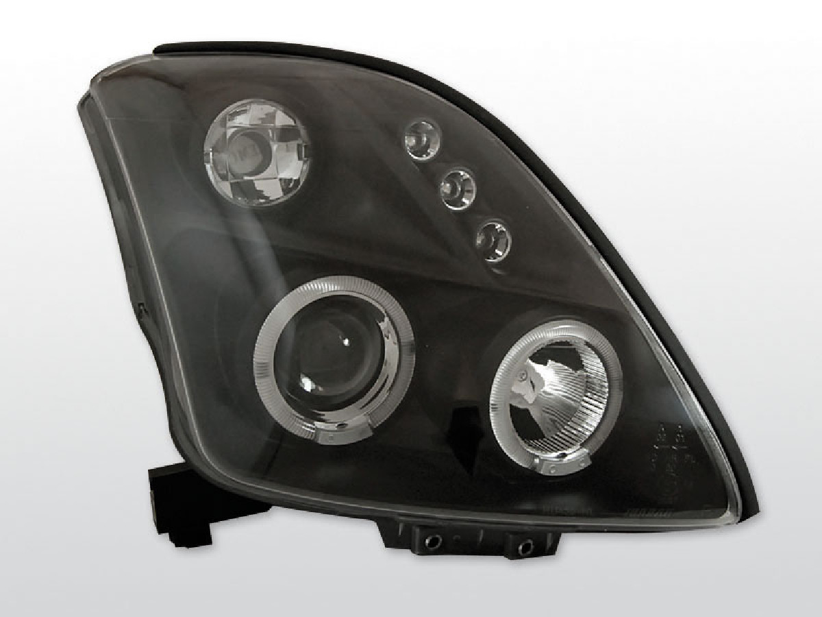 SUZUKI SWIFT 05.05-10 ANGEL EYES BLACK