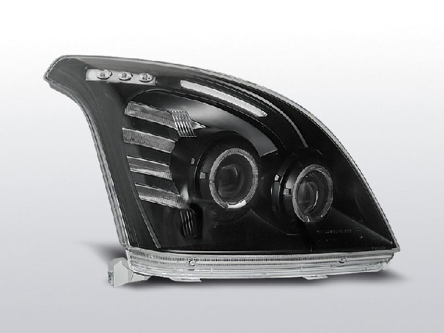 TOYOTA LAND CRUISER 120 03-09 ANGEL EYES BLACK