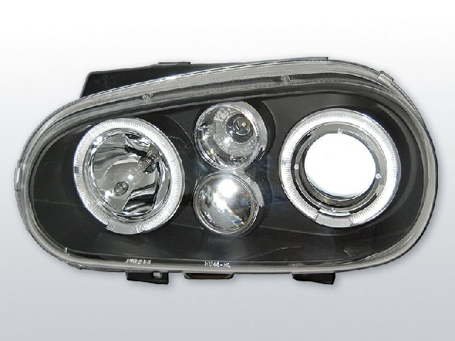 VW GOLF 4 09.97-09.03 ANGEL EYES BLACK