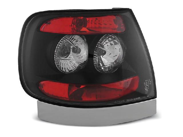 TAIL LIGHTS BLACK fits AUDI A4 11.94-09.00