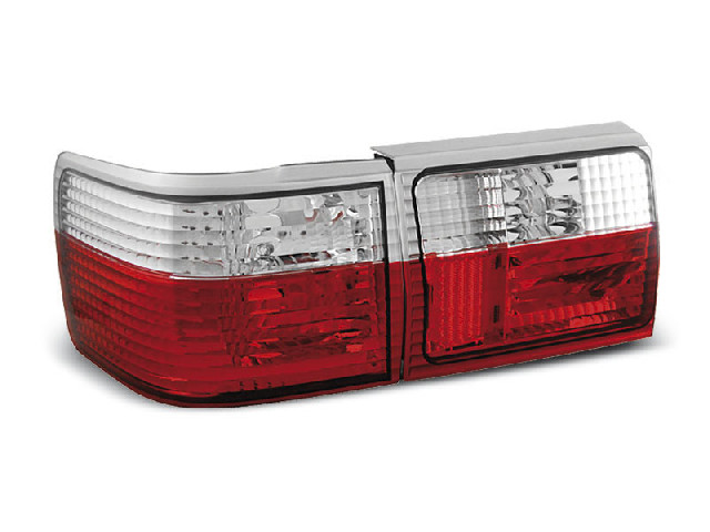 TAIL LIGHTS RED WHITE fits AUDI 80 B4 AVANT 09.1991-04.1996
