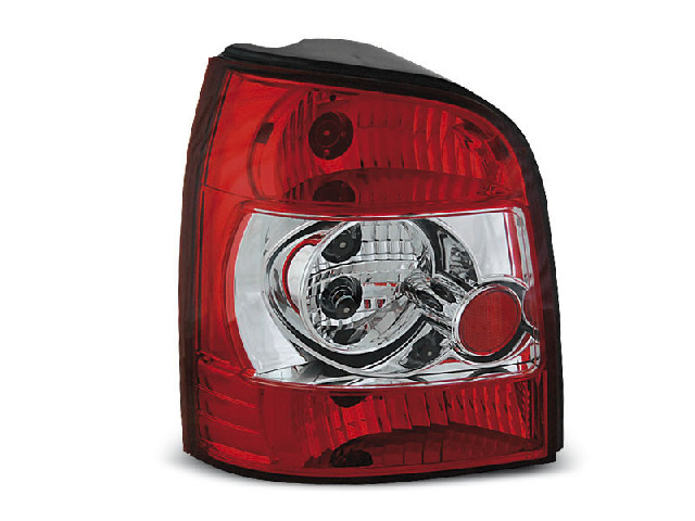 TAIL LIGHTS RED WHITE fits AUDI A4 11.94-01 AVANT