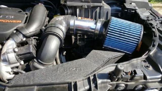 Audi A1 10+ 1.4 TSI Short Ram Air Intake Polish INJEN