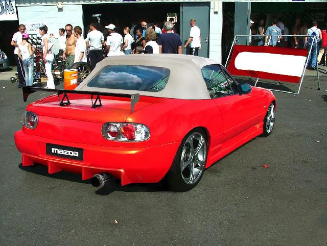 Mazda MX5 NA Heckstoßstange
