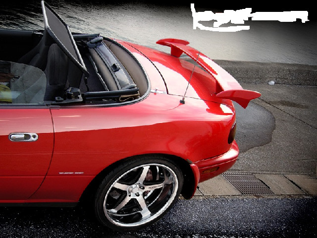 Heckspoiler Mazda MX5 NA