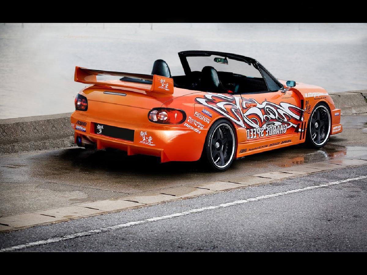 Mazda MX5 NB Heckstoßstange
