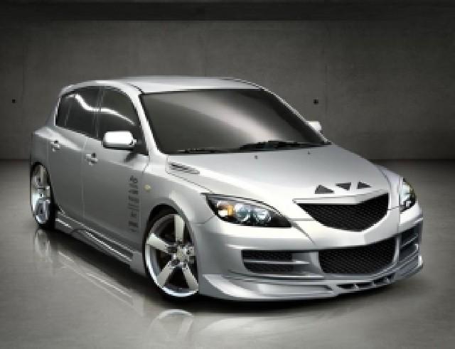 Mazda 3 Aggressive Frontstossstange