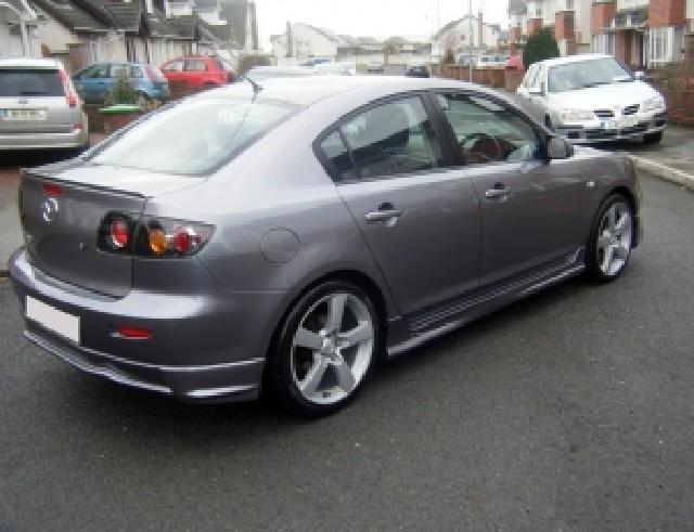 Mazda 3 SX Seitenschweller