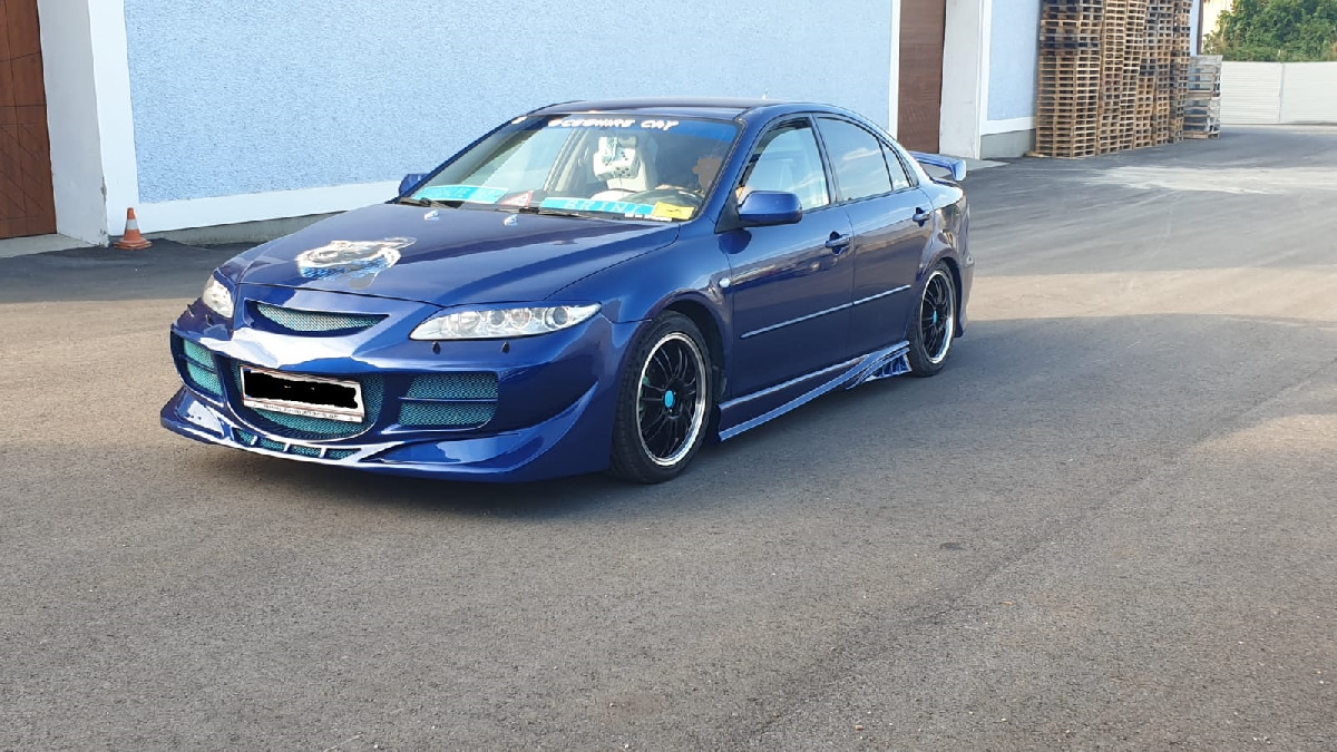 SIDE SKIRTS MAZDA 6 SHARK