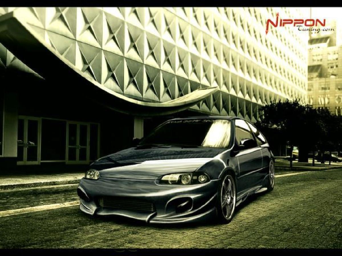 Invader Frontstoßstange Honda Civic Coupe/3T HB Bj. 91-95