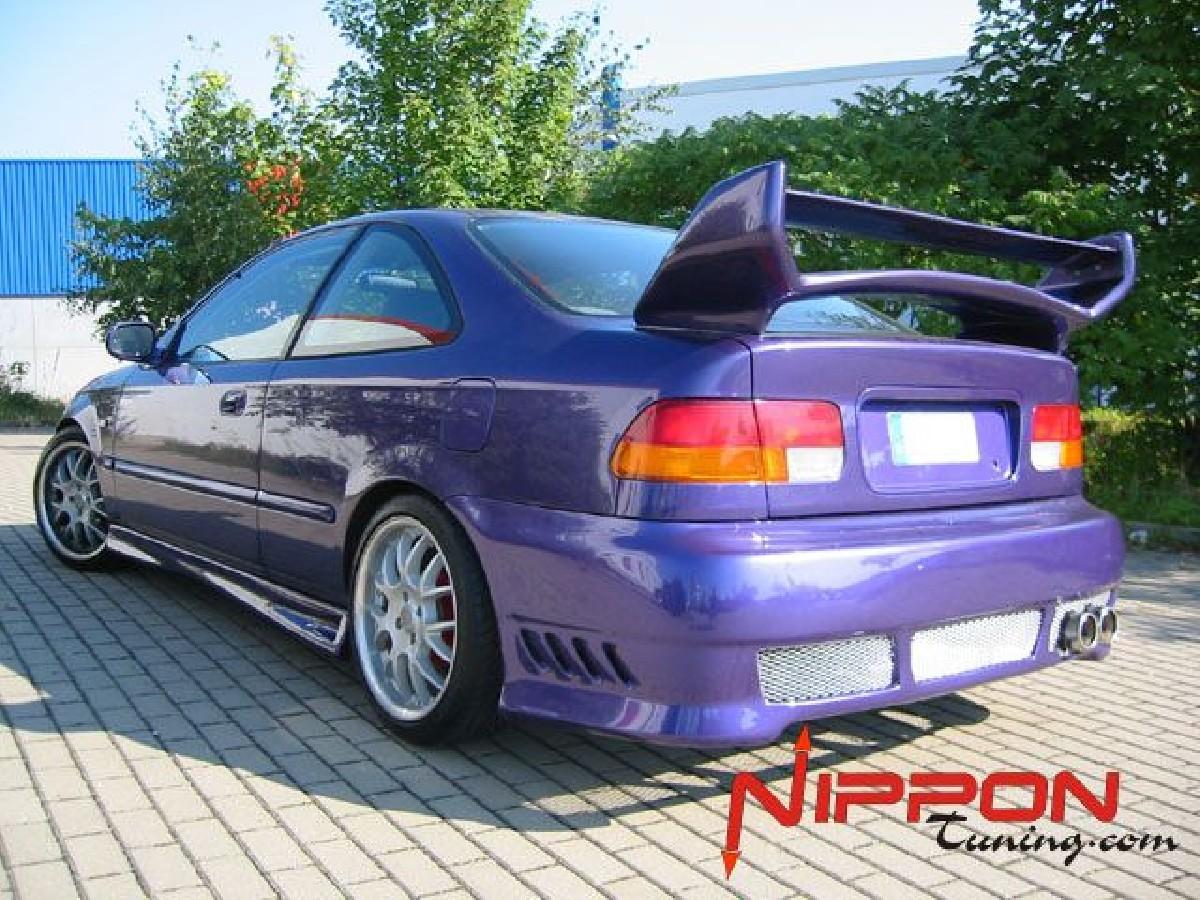 Heckstoßstange Honda Civic Coupe 96-01 Avenger Nipponstyle