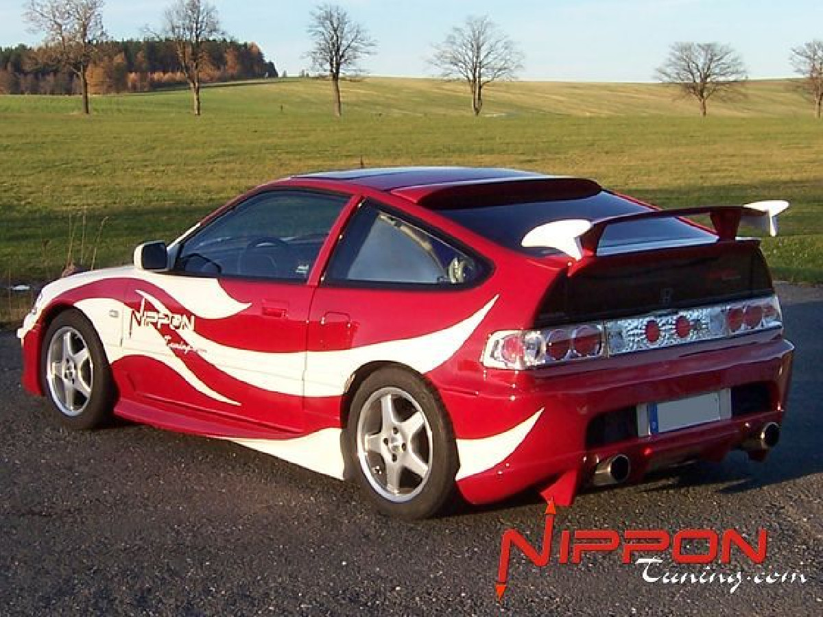 Invader Heckstoßstange Honda CRX (88-91) Nipponstyle