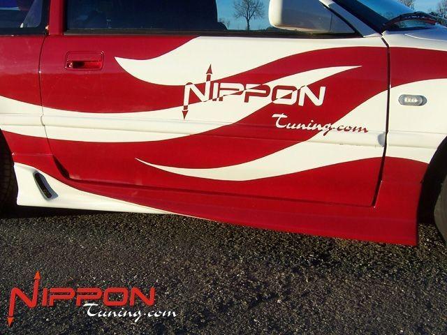 Invader Seitenschweller Honda CRX (88-91) Nipponstyle