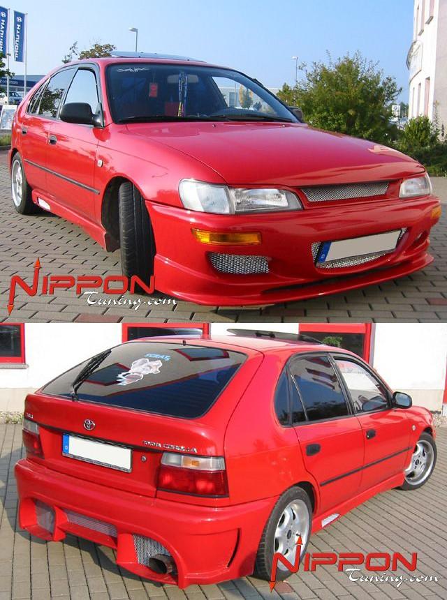 Nipponstyle Bodykit Toyota Corolla E10