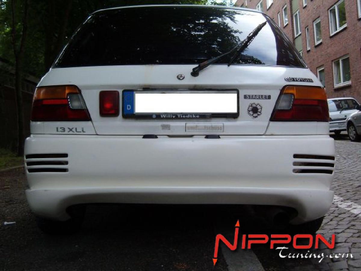 Heckschürze Toyota Starlet P8