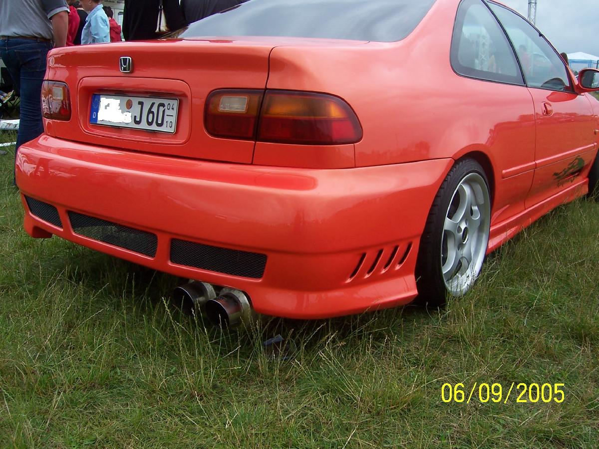Heckstoßstange Honda Civic 2/4 Türer Nipponstyle