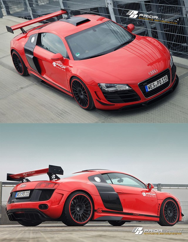 Prior-Design GT650 Bodykit Audi R8