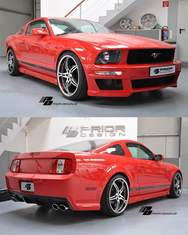 PRIOR-DESIGN Bodykit FORD MUSTANG C5 Bj. 05-08