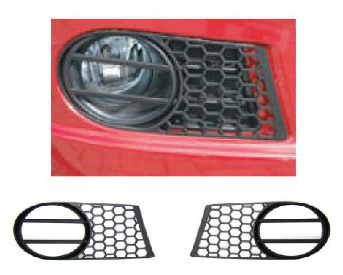Suzuki Swift 2005+ Black ABS Fog Light Caps