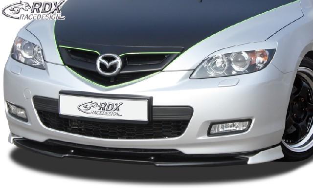 Frontspoiler VARIO-X Mazda 3 2006-2009 Frontlippe Front Ansatz Vorne Spoilerlippe